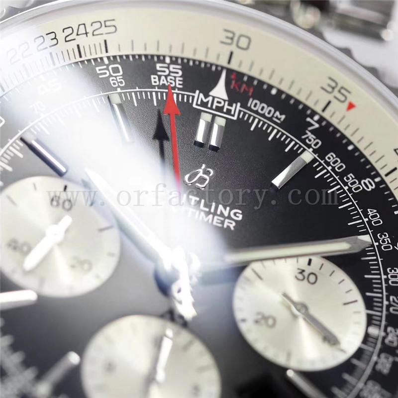 GF厂百年灵航空计时1系列V2版B01计时复刻表评测