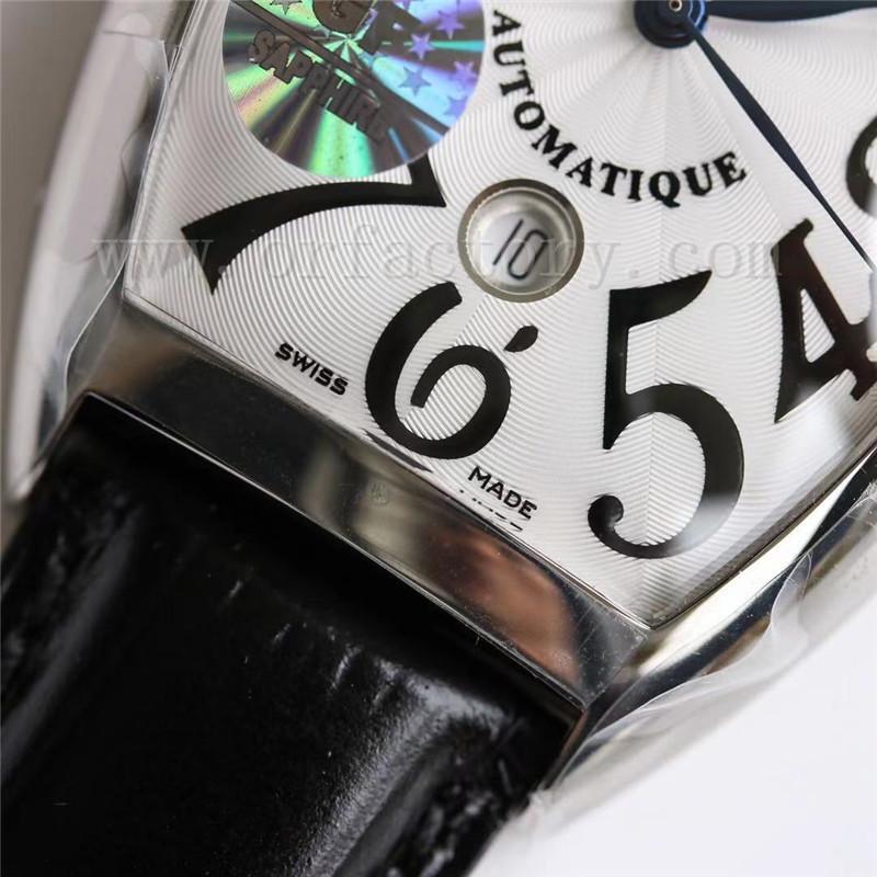 GF厂法穆兰Casablanca系列8880酒桶型男表真假对比评测