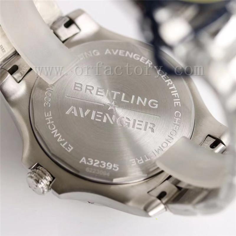 GF厂百年灵复仇者42mm机械腕表评测-GMT双时区