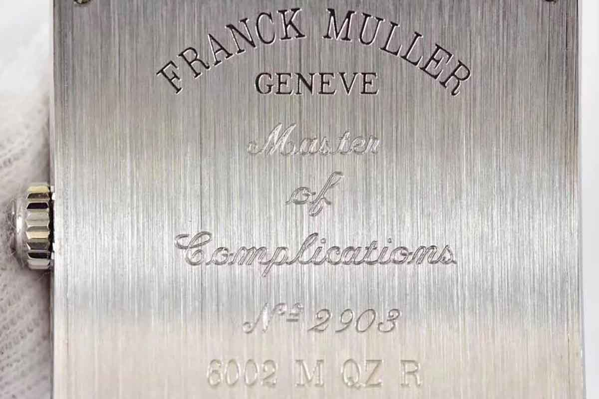 GF厂法兰克穆勒6002石英机芯腕表评测