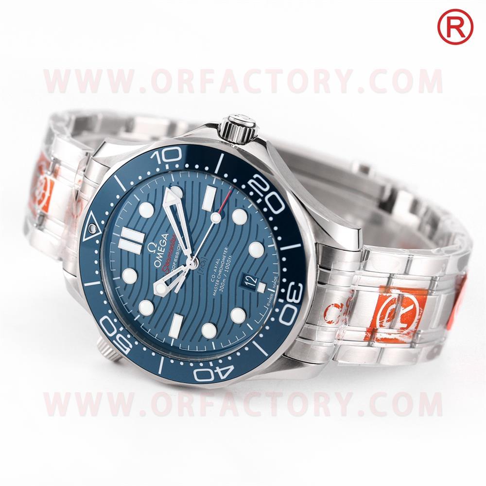 怎么鉴别OR厂欧米茄海马300腕表