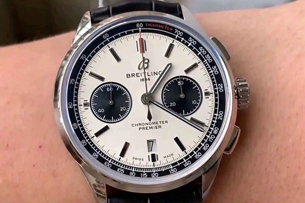 GF厂复刻百年灵璞雅B01计时系列复刻腕表做工细节深度评测-品鉴优雅风格腕表