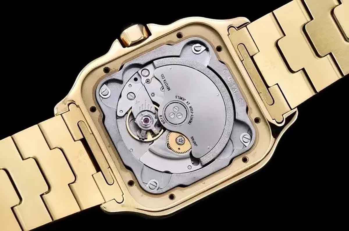 GF厂卡地亚山度士金款复刻腕表做工细节深度评测-品鉴GF厂腕表