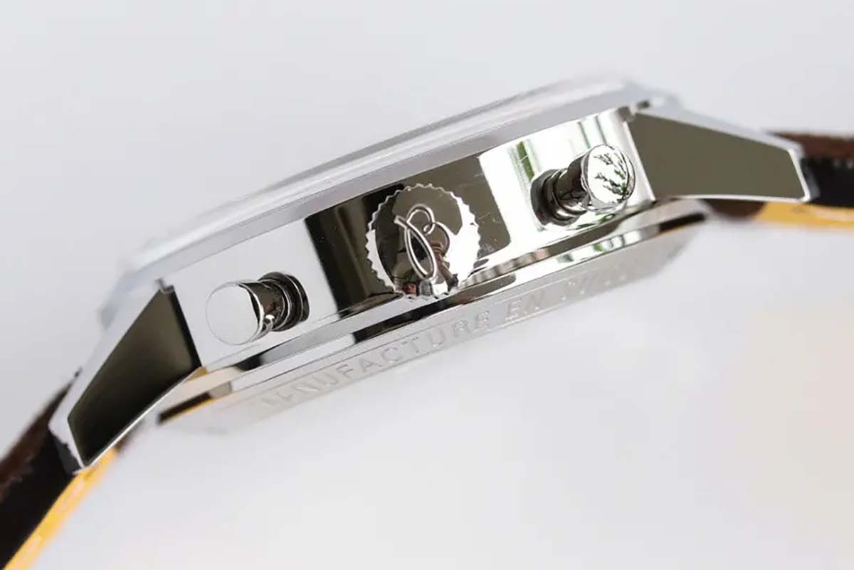 GF厂百年灵璞雅系列复古佐罗面复刻腕表做工细节深度评测