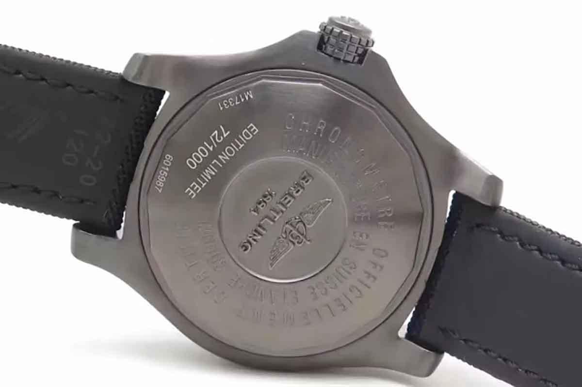 GF百年灵复仇者深潜海狼黄盘复刻腕表做工细节如何-品鉴GF厂复刻腕表