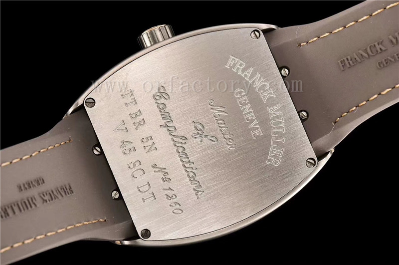 GF厂法穆兰Vanguard系列V45游艇男士腕表详细评测
