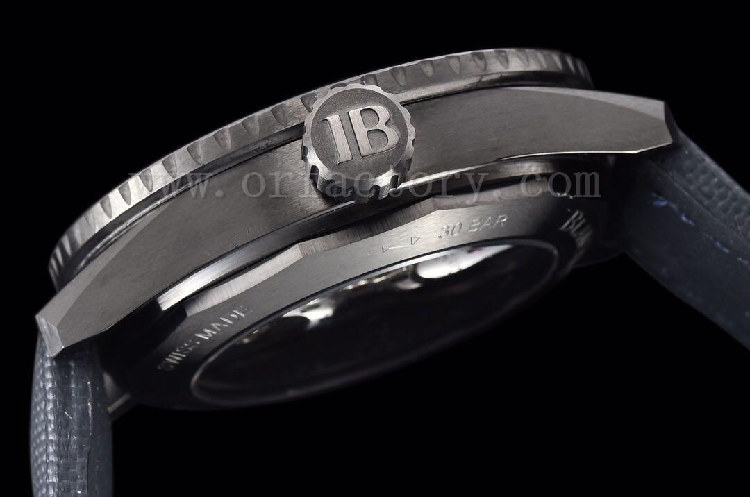 GF厂宝珀五十噚5000陶瓷蓝面43.6mm腕表做工怎么样