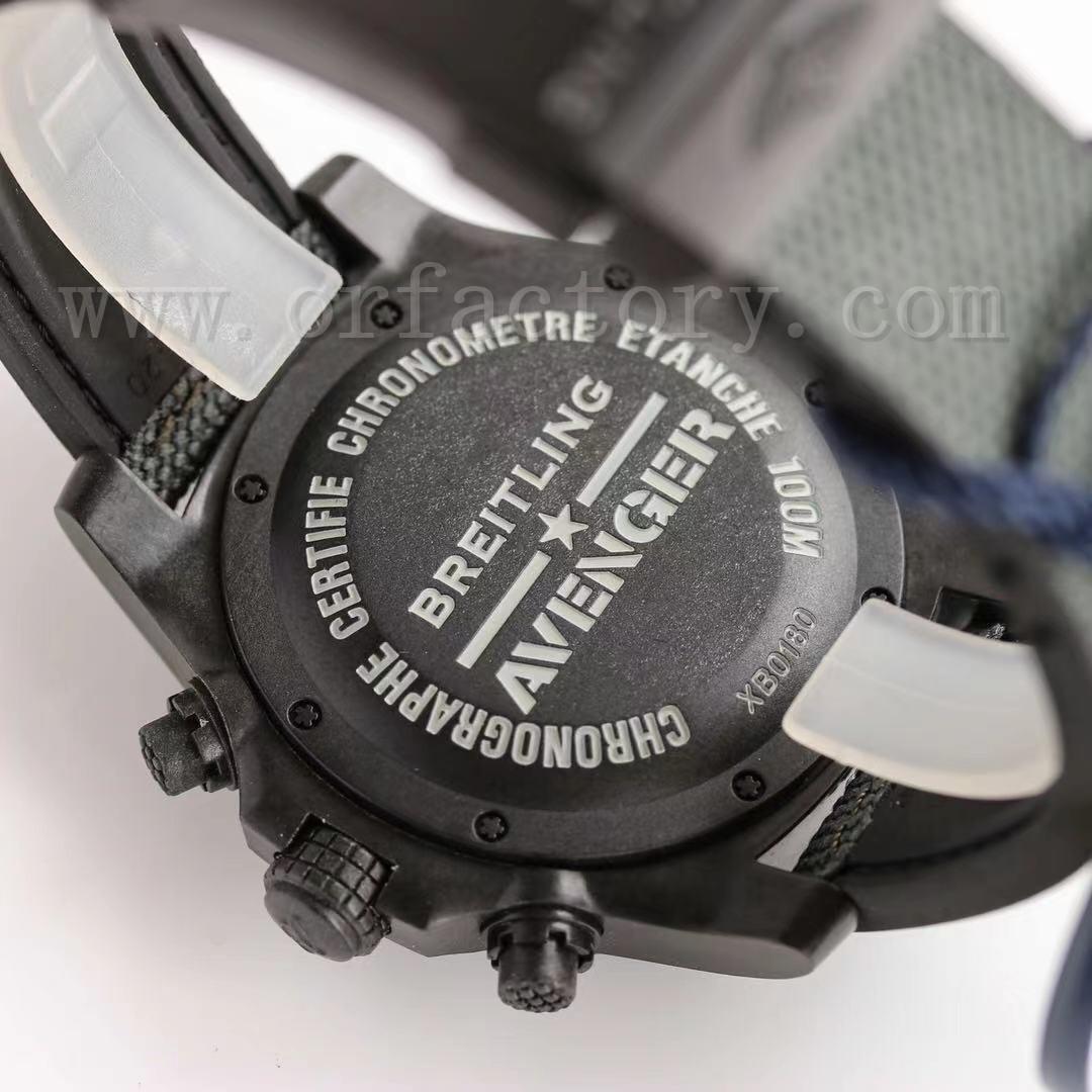 GF厂究极新作百年灵复仇者飓风系列45mm计时码表评测