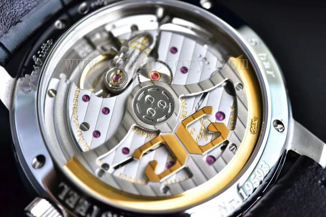 GF厂格拉苏蒂原创议员大日历月相腕表做工怎么样,对比正品如何