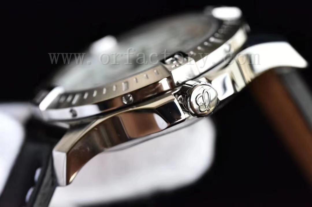 GF厂百年灵挑战者系列44mm男士腕表评测,白盘