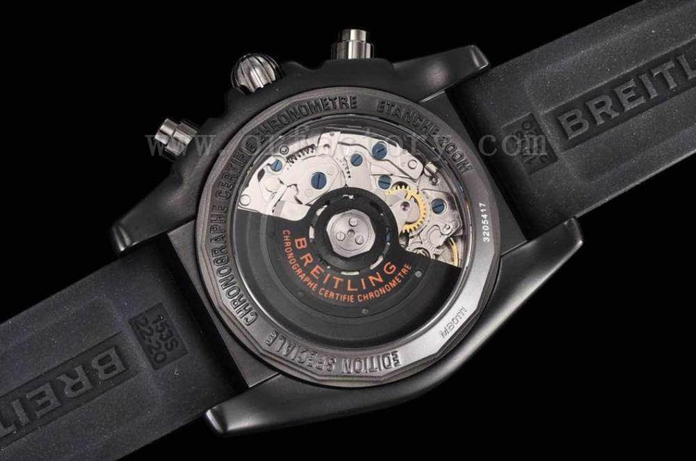 GF厂百年灵黑鹰终极计时腕表详细评测橙色圈口