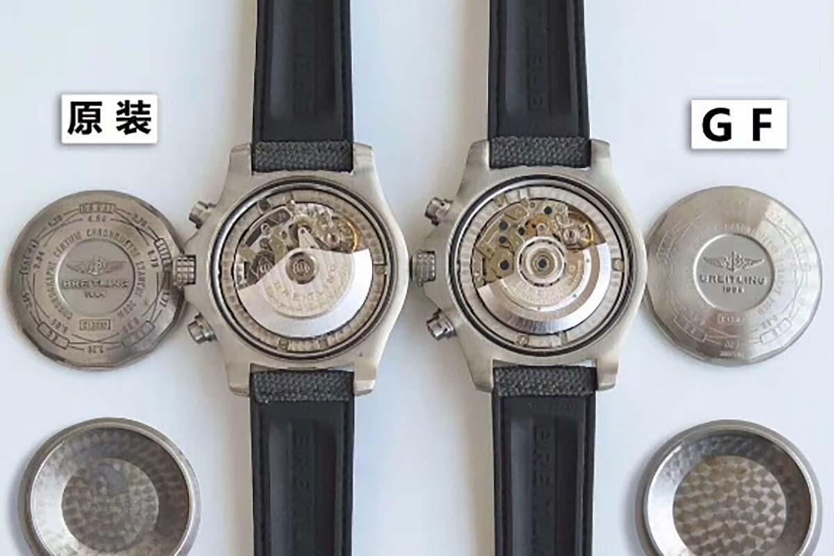 GF厂百年灵复仇者战机复刻腕表对比正品图文评测-评鉴GF厂腕表