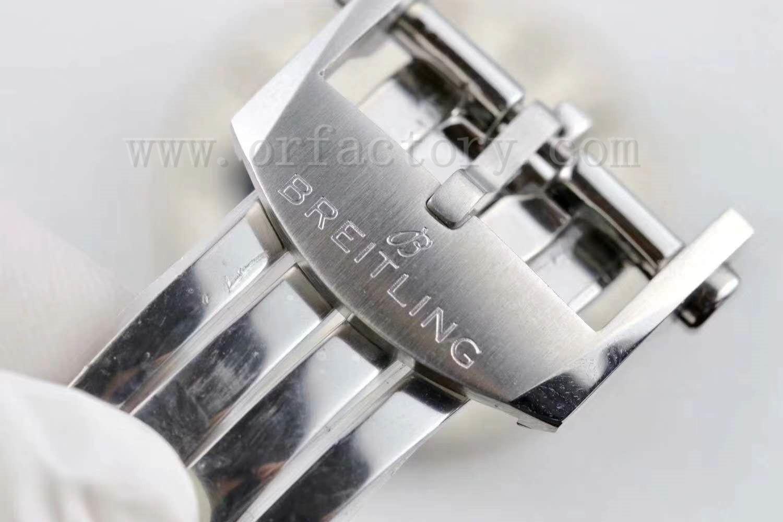 GF厂百年灵璞雅b01计时腕表拆解做工怎么样,吴彦祖同款