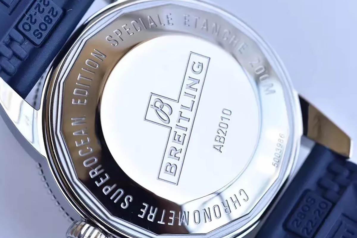 GF厂百年灵超级海洋文化二代腕表机芯会一眼假吗,值不值得入手