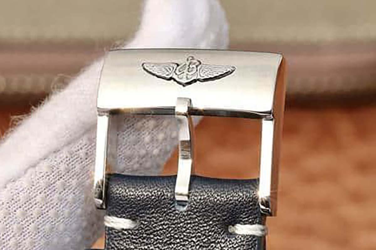 GF厂百年灵挑战者系列蓝盘复刻腕表做工细节深度评测-品鉴GF厂复刻