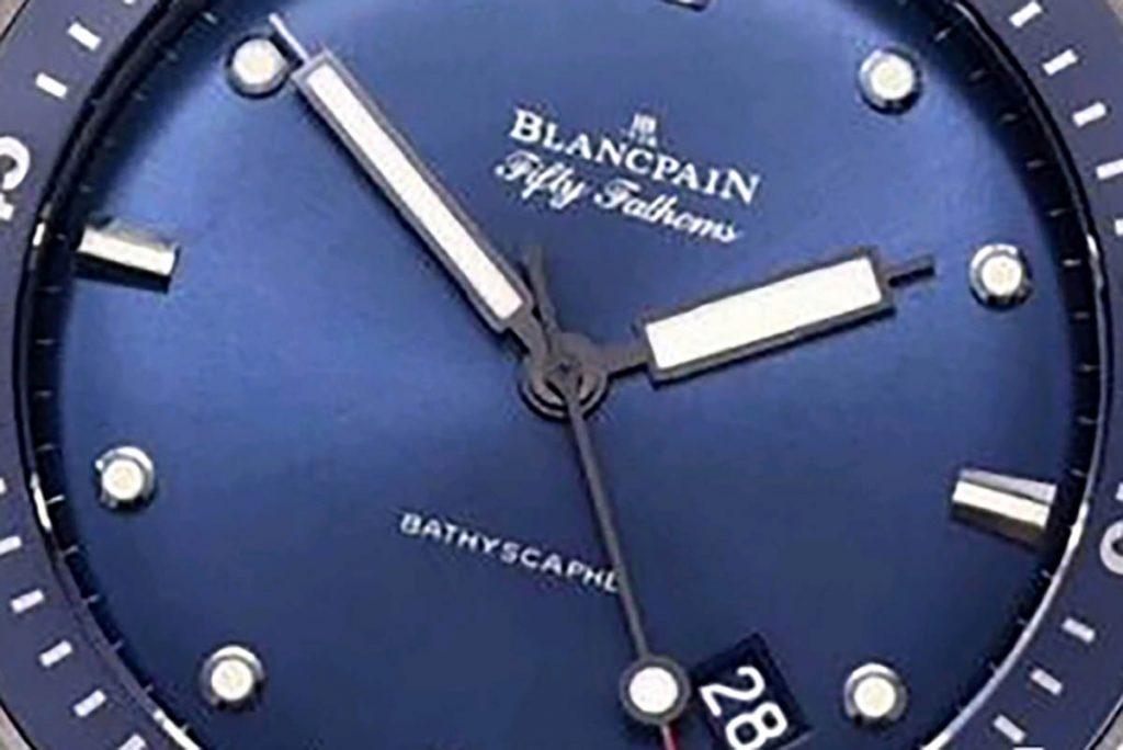 GF宝珀五十噚5000蓝面陶瓷材质复刻腕表做工小细节深度评测-品鉴GF厂腕表