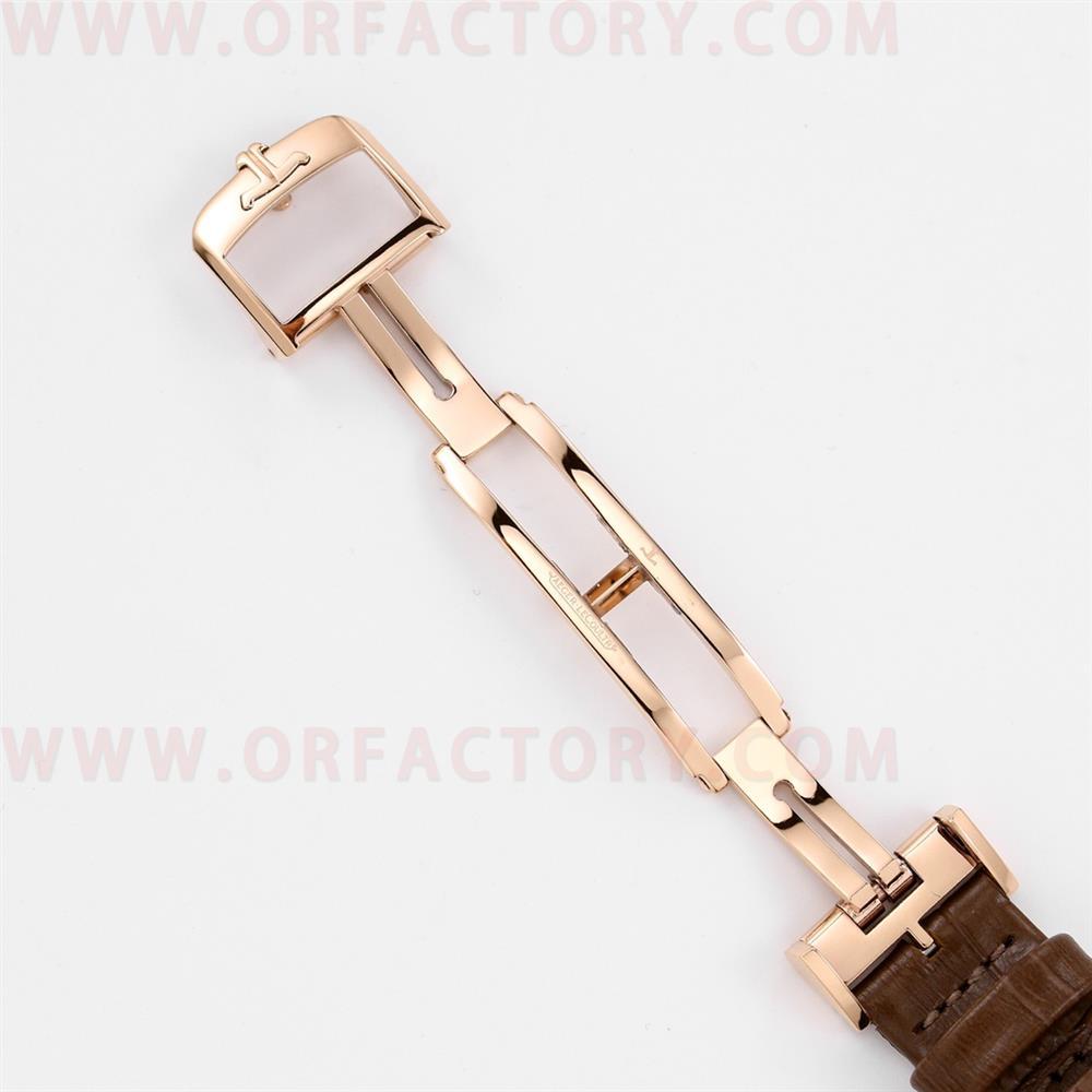 GF厂积家约会3448480白盘玫瑰金带钻腕表