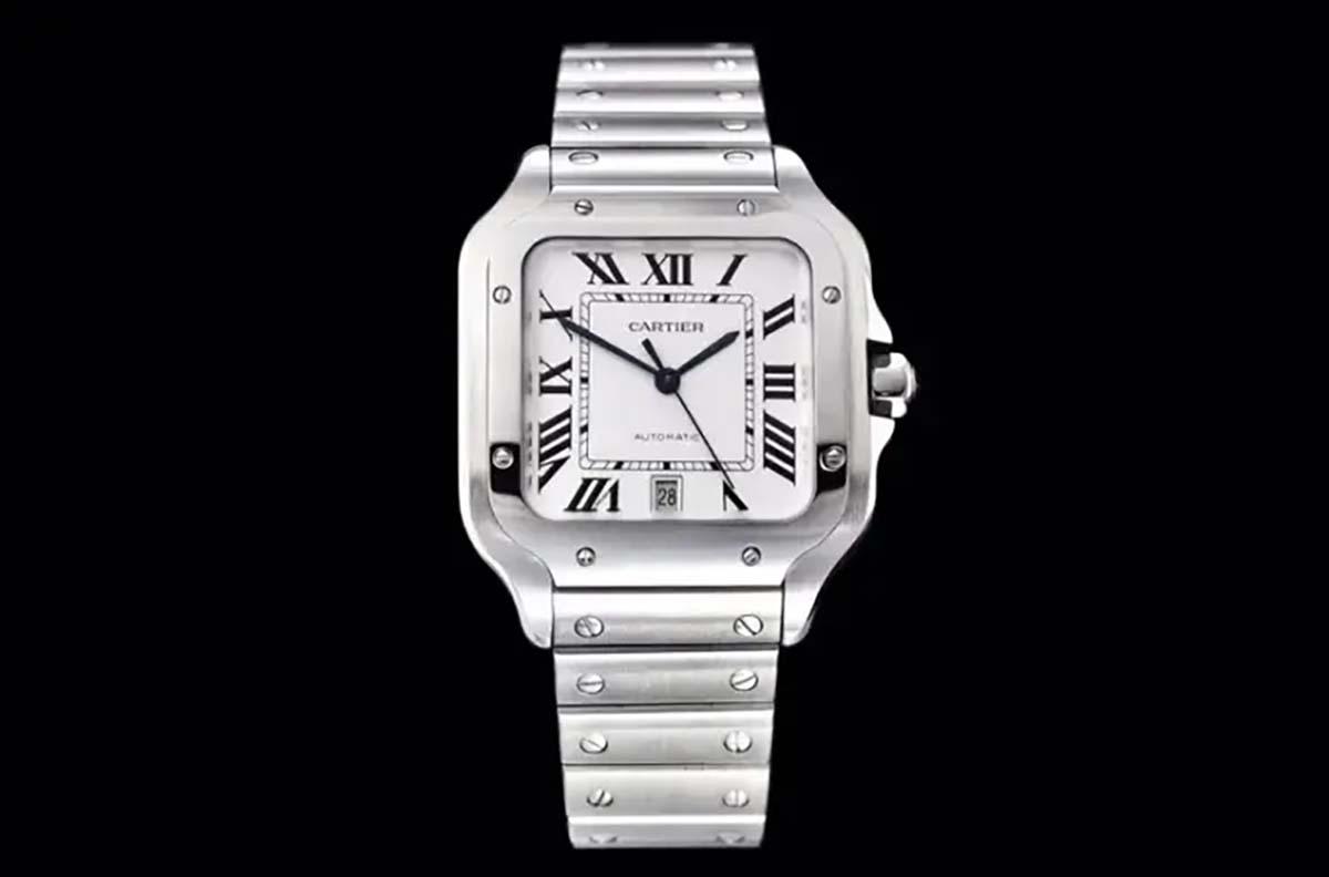 GF厂复刻版卡地亚山度士系列「WSSA0009」腕表会不会一眼假