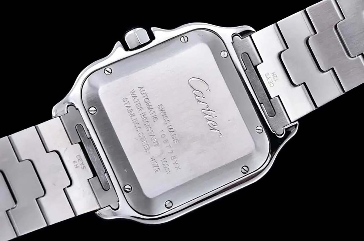 GF厂卡地亚山度士间黄款式复刻腕表做工质量究竟如何-W2SA0009