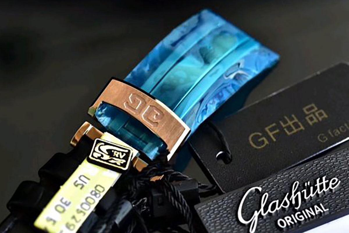 GF厂格拉苏蒂原创议员大日历月相玫瑰金款复刻腕表做工细节深度评测