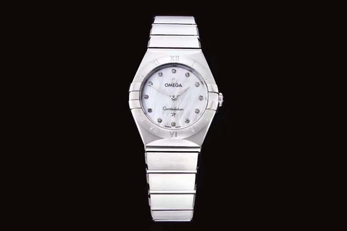 GF厂欧米茄星座系列贝壳面复刻腕表做工细节如何-品鉴GF厂星座实拍图