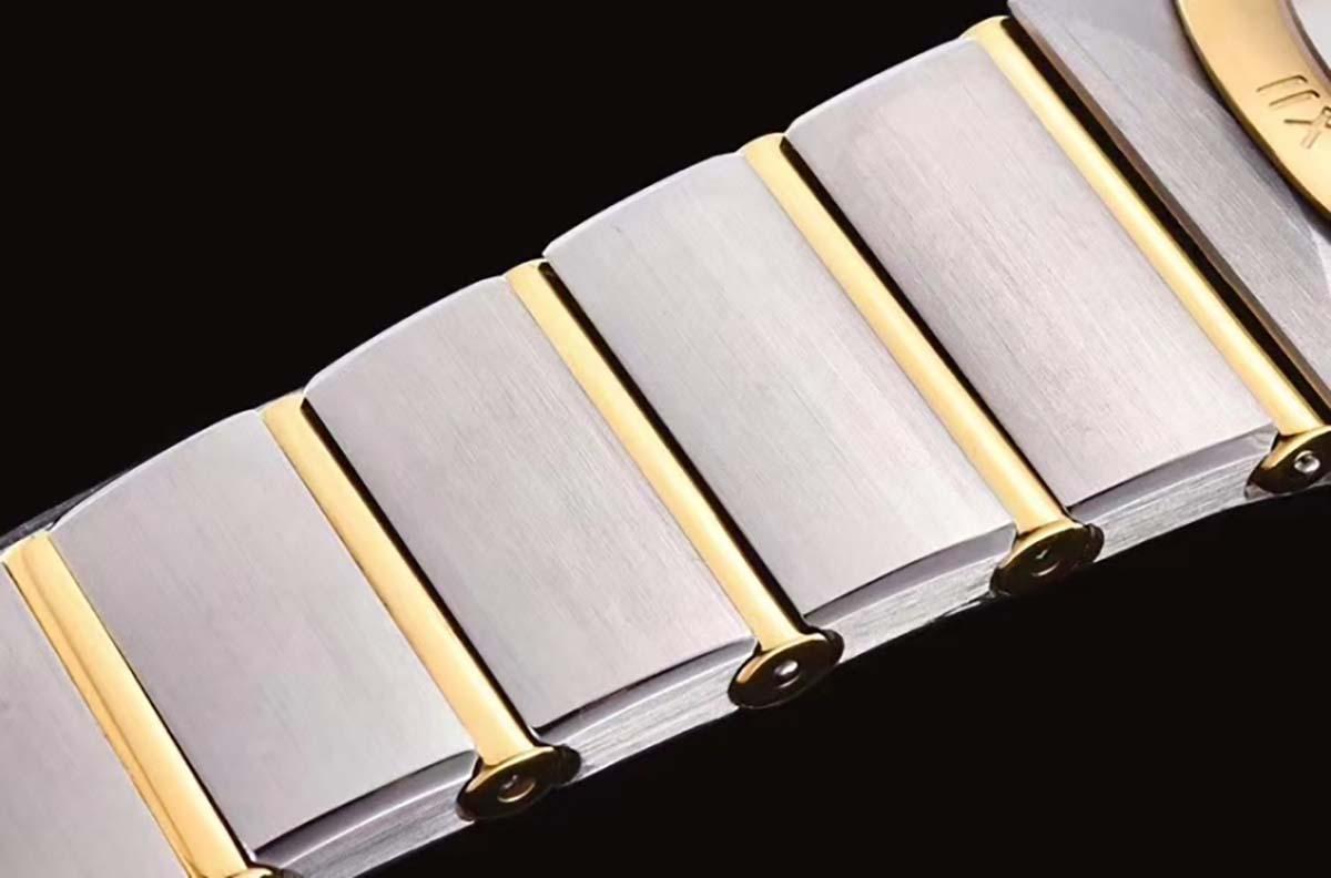 GF厂欧米茄星座系列间金蓝色星空复刻腕表做工质量究竟如何-品鉴GF厂腕表