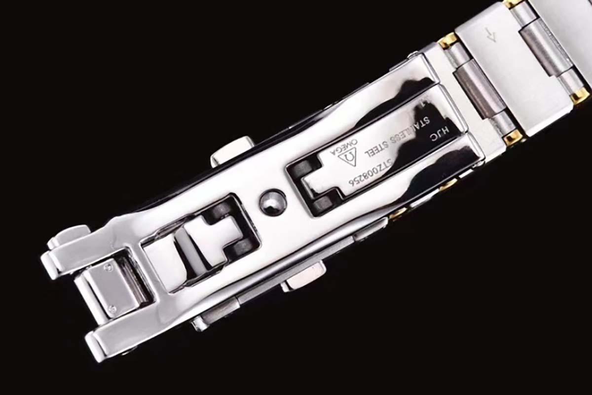 GF厂欧米茄星座系列25毫米间金贝壳面女士复刻腕表做工质量究竟如何-品鉴GF厂腕表