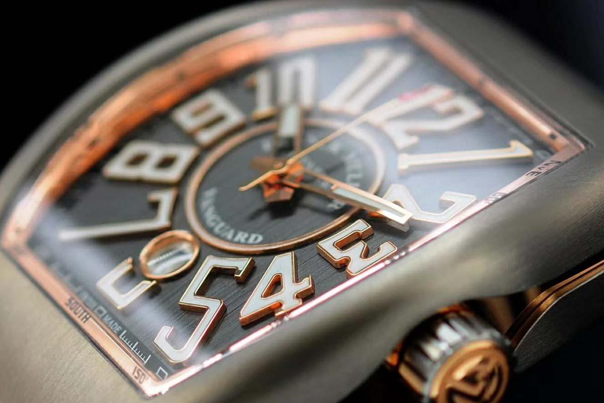 GF厂法兰克穆勒Vanguard系列V45复刻腕表做工细节究竟如何-品鉴GF厂法穆兰