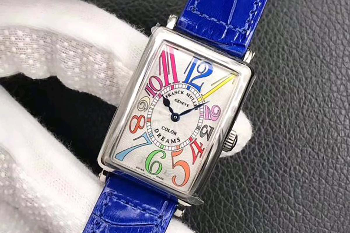GF厂法穆兰Long Island「长岛」952QZ复刻腕表评测-女士腕表推荐