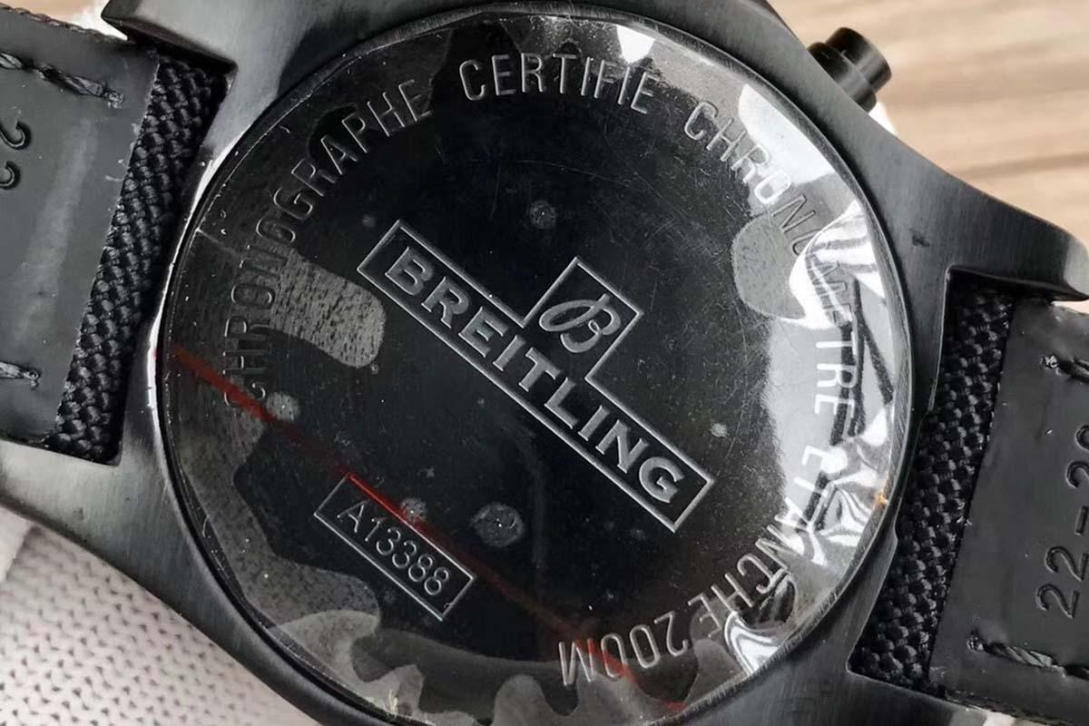 GF厂百年灵挑战者酷炫航空计时复刻腕表做工细节如何-品鉴GF腕表