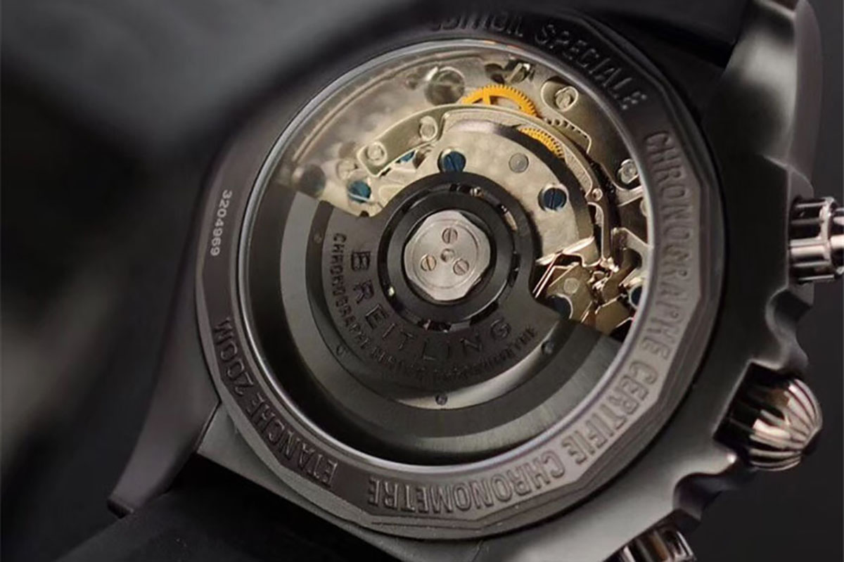GF厂百年灵机械计时44mm机械计时腕表详细评测