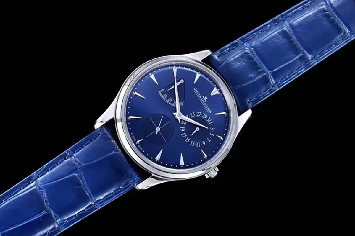 GF厂积家大师系列小丑蓝盘复刻腕表做工质量究竟如何-品鉴GF腕表