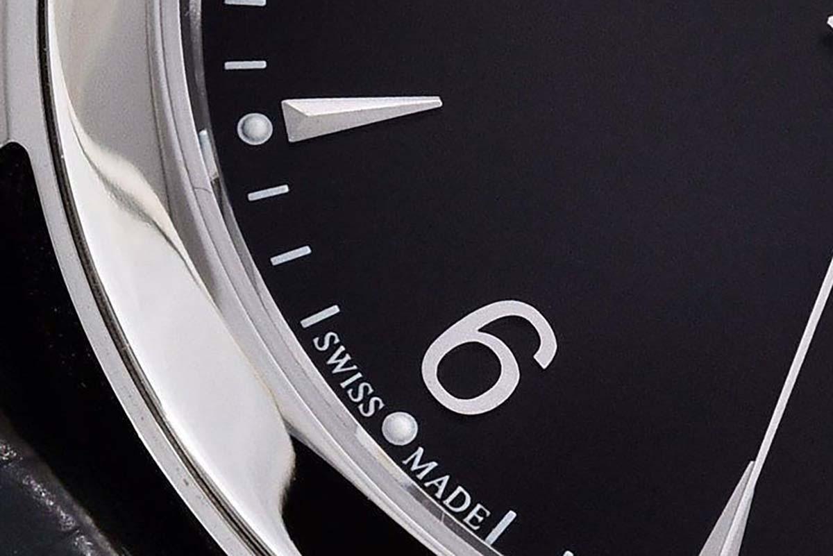 GF厂积家大师Q系列黑盘复刻腕表做工细节评测-品鉴GF厂复刻腕表