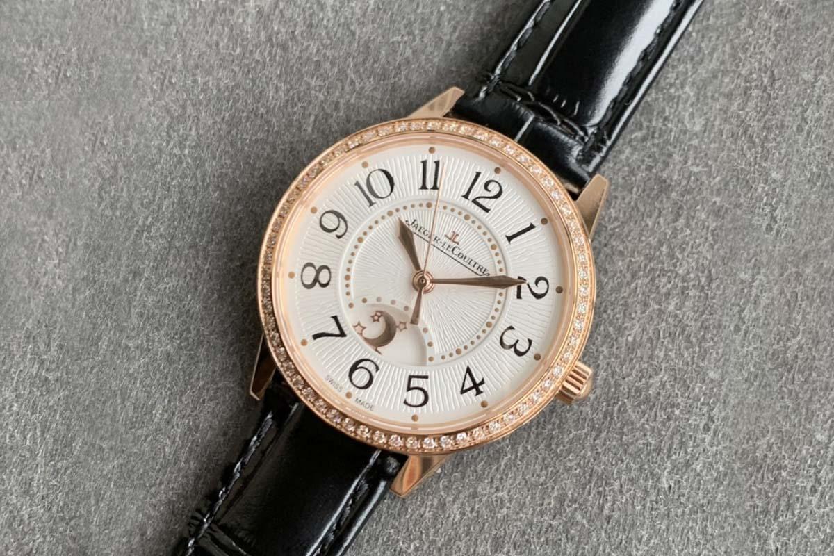 GF厂积家约会系列日夜显示中型款3442430复刻腕表做工细节深度评测
