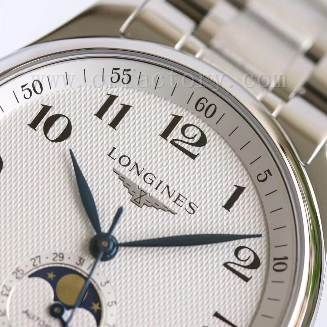 GF厂浪琴名匠月相L2.919.4.78.3腕表对比正品评测