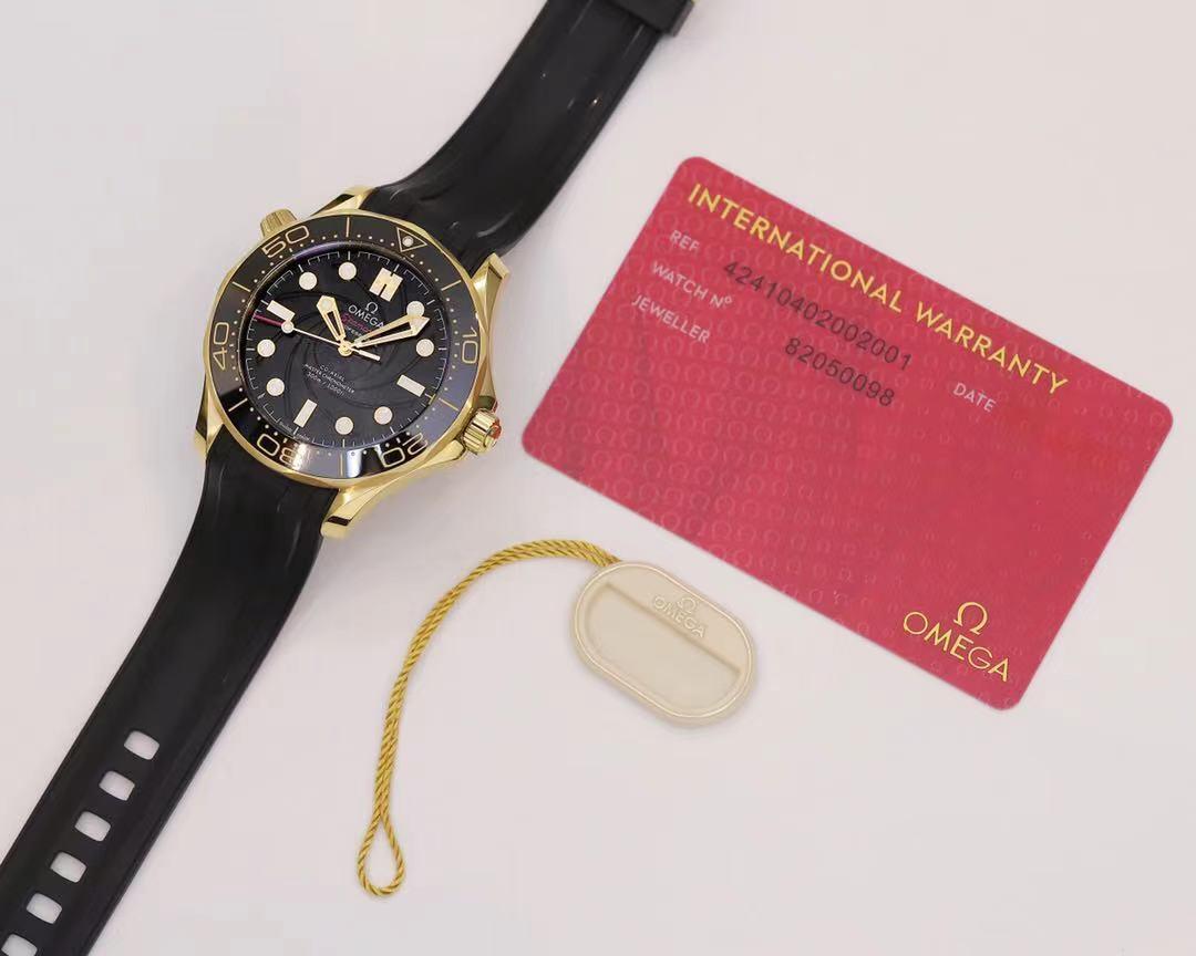 OR厂欧米茄海马300黄金版詹姆斯邦德女王密使腕表详细评测
