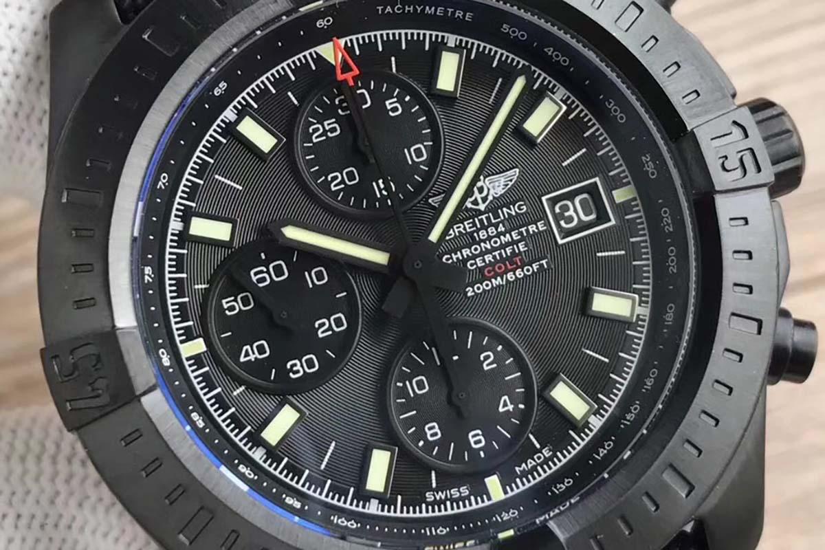 GF厂百年灵挑战者系列M1338810复刻腕表做工细节如何-品鉴复刻腕表
