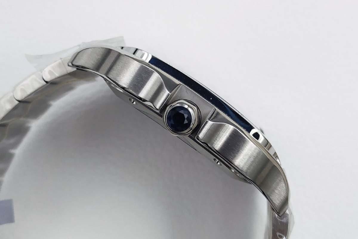GF厂卡地亚山度士WSSA0013「大号」复刻腕表做工细节如何-高颜值表款推荐