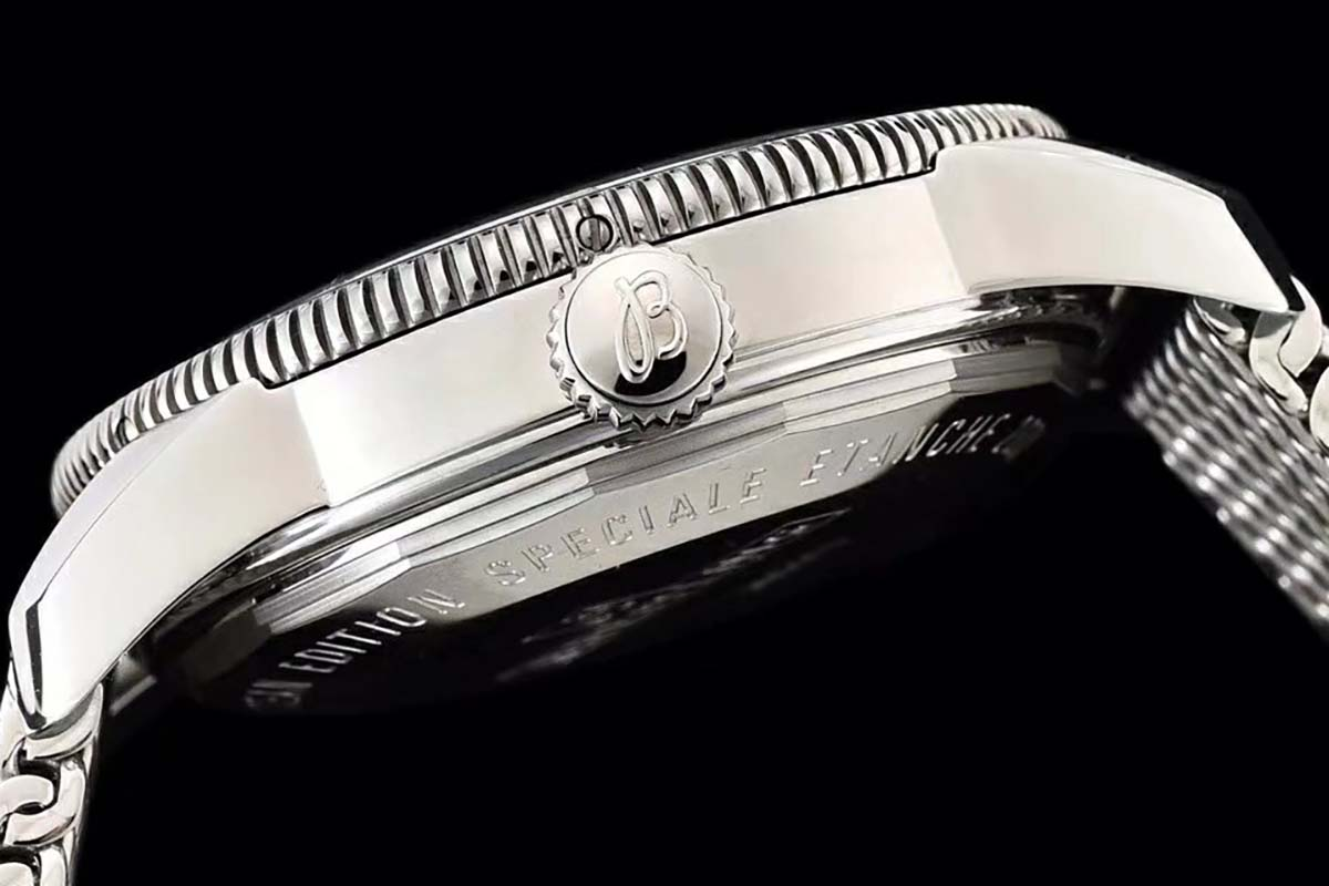GF厂百年灵超级海洋文化系列黑圈黑盘复刻腕表做工细节质量究竟如何-品鉴GF厂复刻腕表