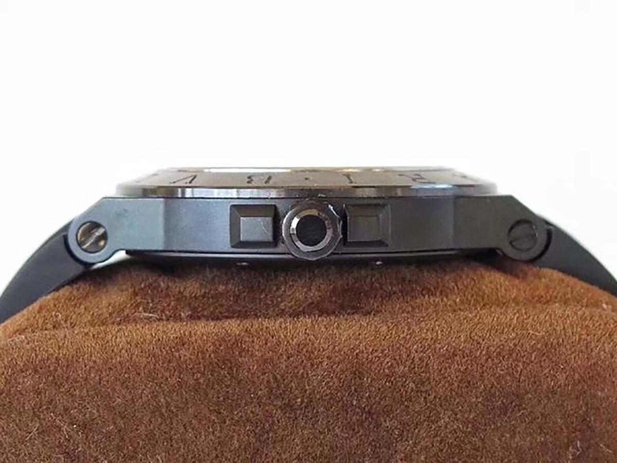 GF厂宝格丽Diagono系列V2版本镁合金材质灰黑盘复刻腕表做工细节如何