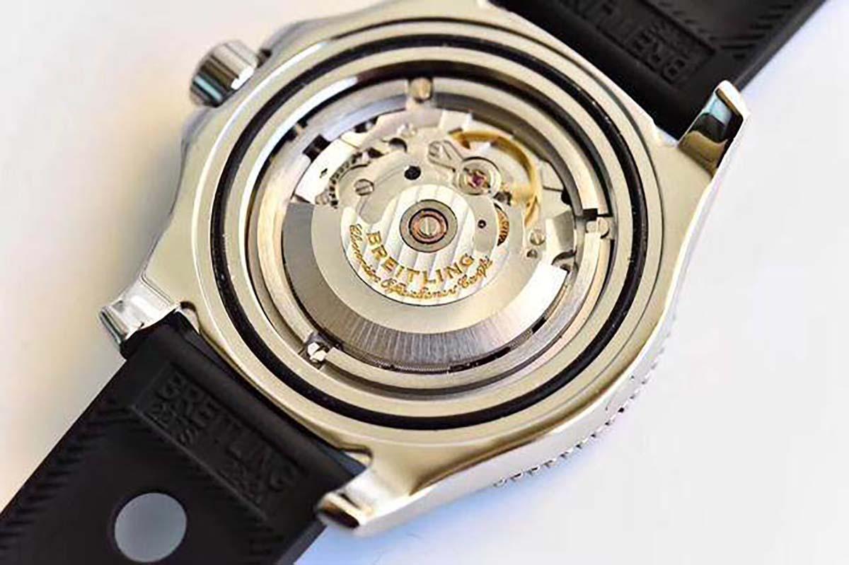GF厂百年灵超级海洋二代系列黑盘复刻腕表做工细节深度评测-品鉴GF厂腕表