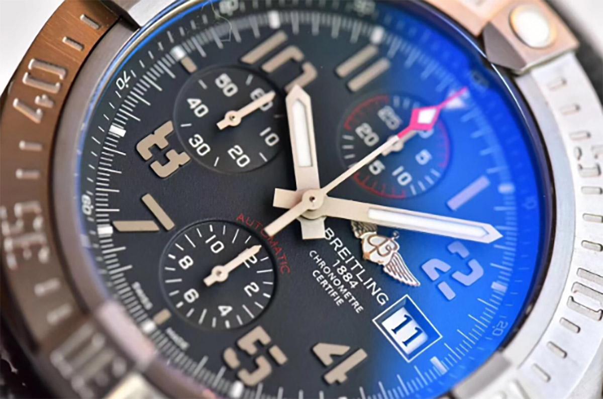 GF厂复仇者战机钛金属材质复刻腕表做工细节深度评测