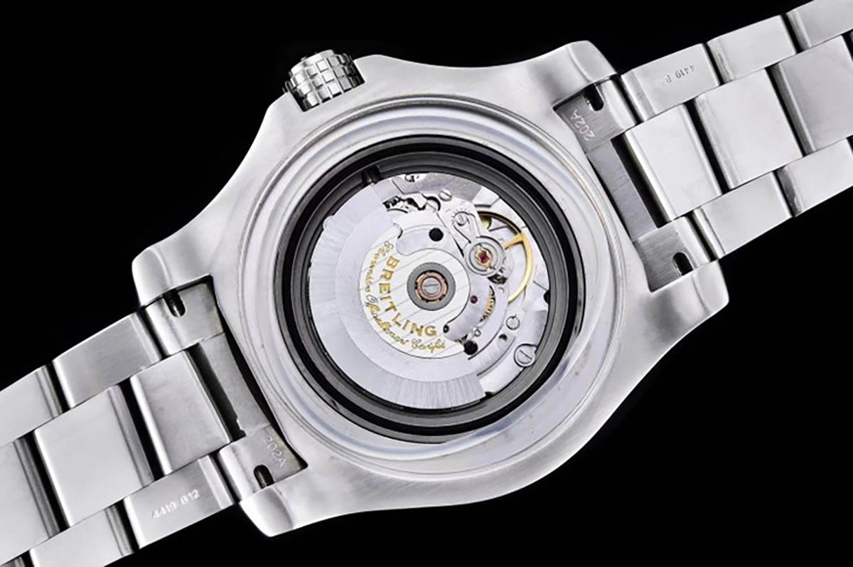 GF厂百年灵复仇者深潜海狼系列黄盘复刻腕表做工细节如何-品鉴GF厂腕表