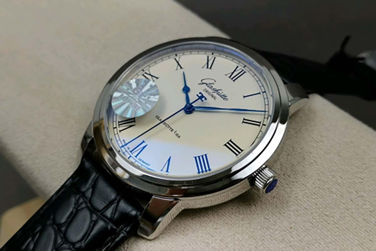 GF厂格拉苏蒂参议员系列经典大三针复刻腕表做工细节评测-简约风格腕表推荐