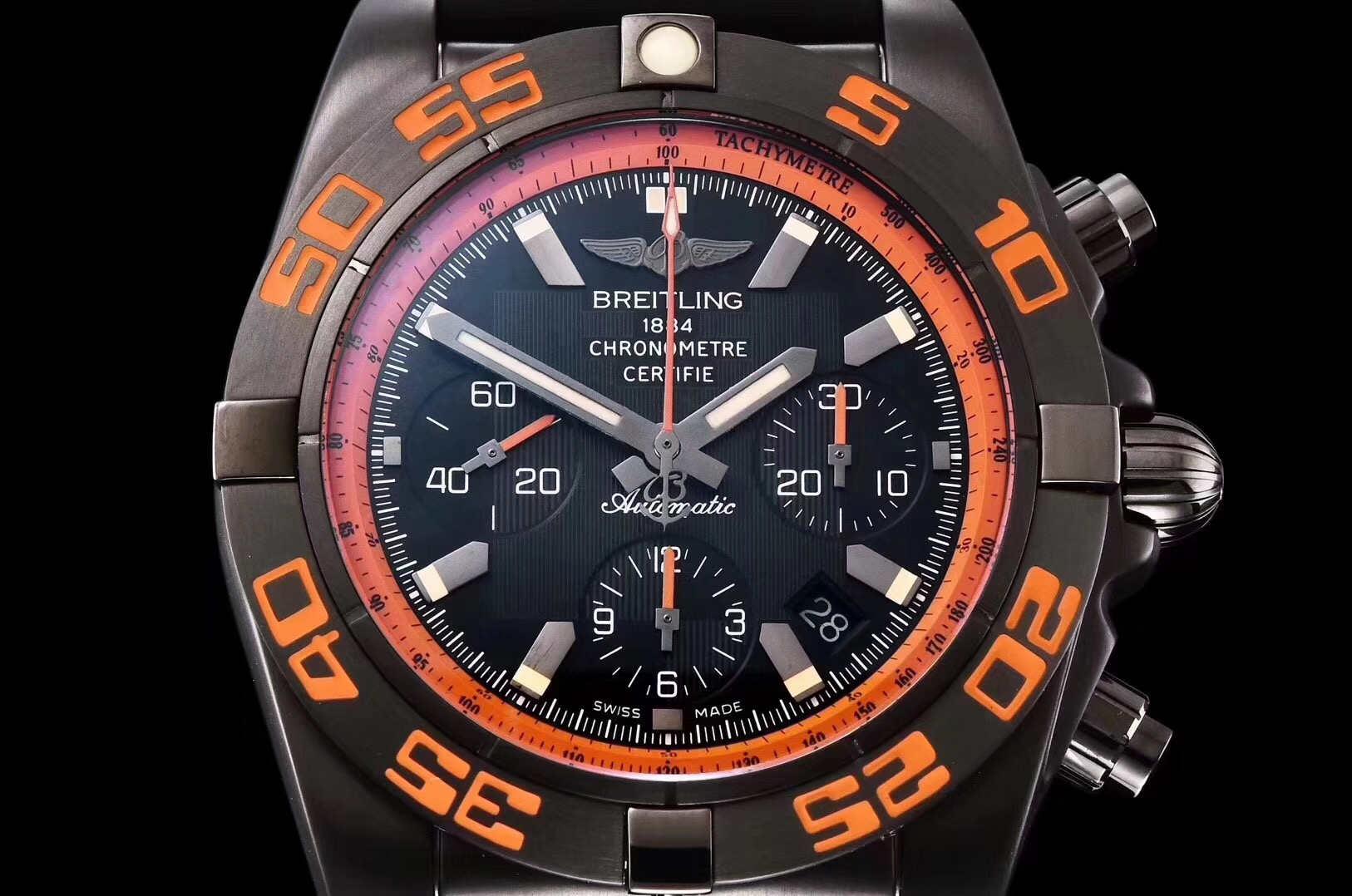 GF厂机械计时系列终极计时黑鹰复刻腕表做工细节深度评测-品鉴GF厂腕表