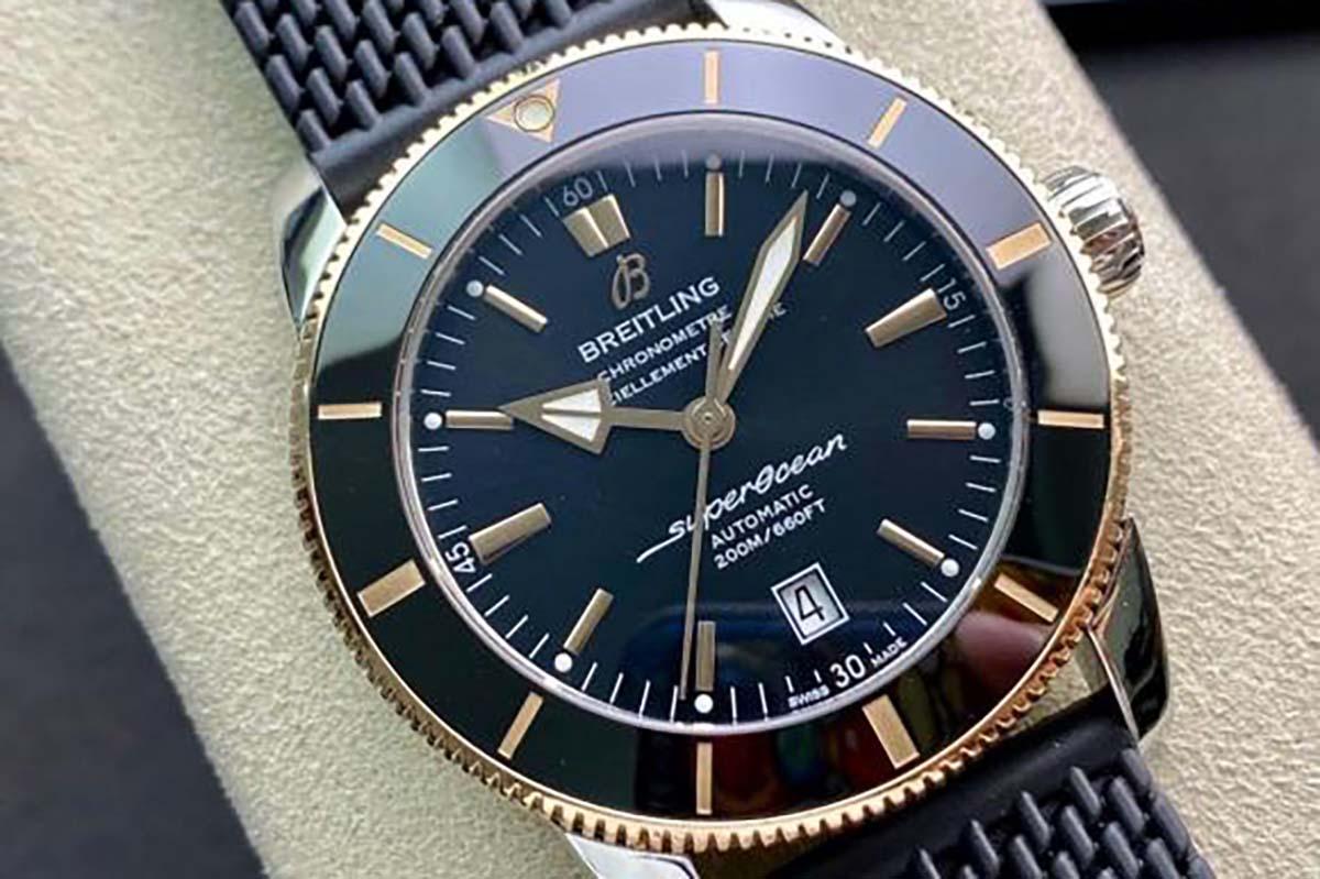 GF厂超级海洋文明二代间玫瑰金圈款复刻腕表做工细节如何-品鉴GF厂腕表