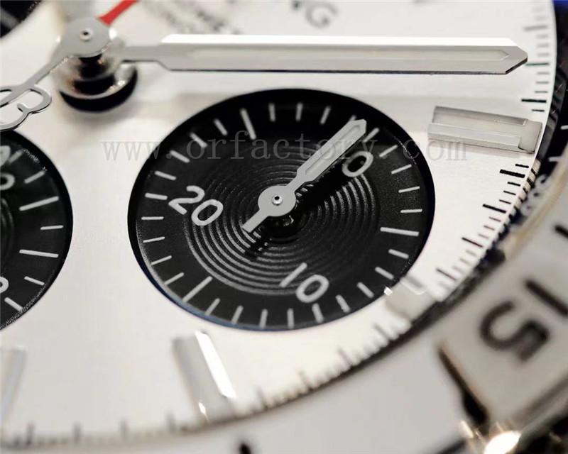 GF厂百年灵机械计时B01腕表质量怎么样,做工细节如何