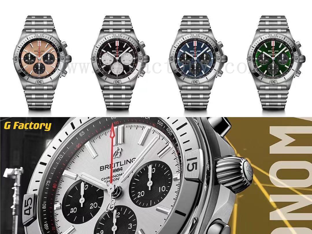 GF厂百年灵机械计时B01系列腕表值得入手吗,如何使用计时腕表