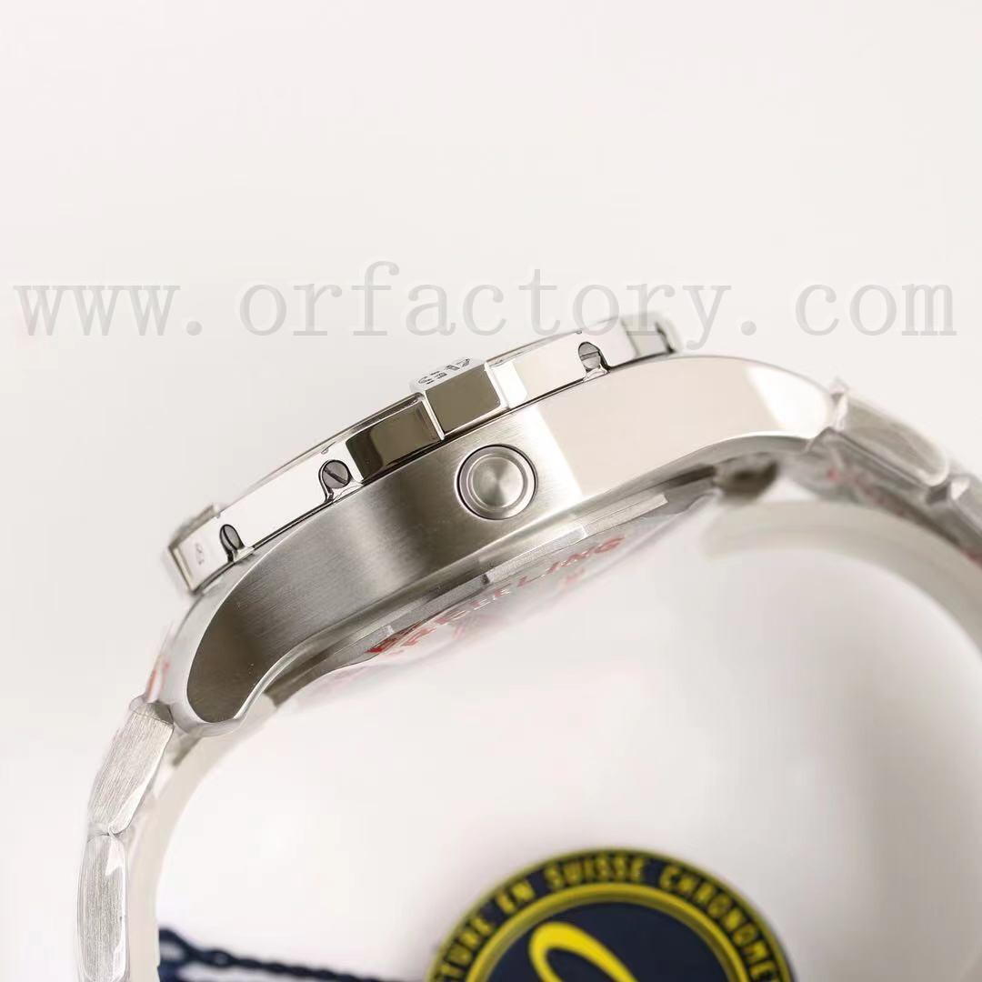 GF厂百年灵复仇者深潜系列黄狼腕表质量怎么样,对比正品如何