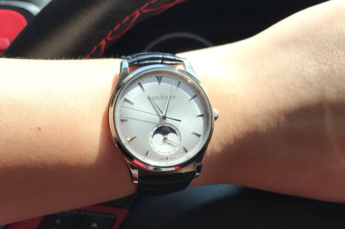 GF厂积家月相大师升级点-品鉴GF复刻腕表做工细节